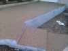 Bonded aggregate paving