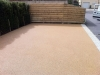 Bonded Aggregate Paving - domestic driveway