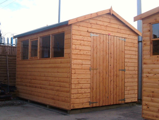 Picnic table plans metric garden sheds fitted easy for Garden shed repair parts