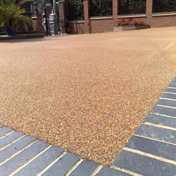 Bonded Aggregate Paving By Ashlands Fencing