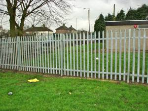 Fencing at Buttershaw High School