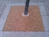 Tree pit  finished with bonded aggregate paving