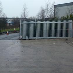 Automatic gate installation in Bradford