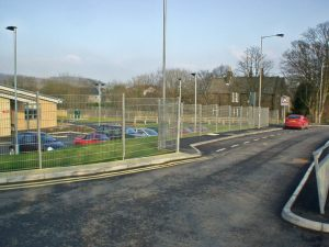 Fencing at Cullingworth School
